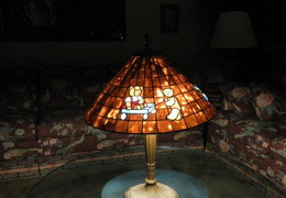 eo tiffany lamp bear  2500