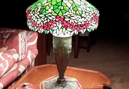 lr rose lace lamp  2500