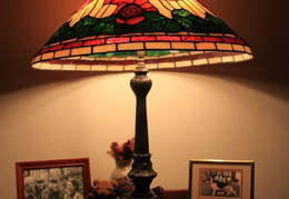tiffany lamps n glass 016