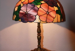 tiffany lamps n glass 019