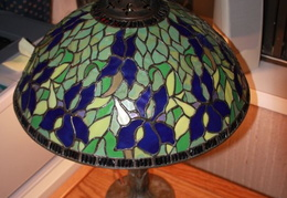 tiffany lamps n glass 021