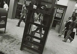 girl in phonebooth 1970